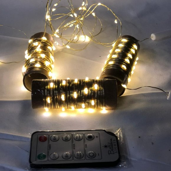 Set of 4 Battery Operated 8' Fairy Lights
